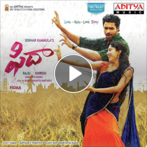 fidaa video songs free download